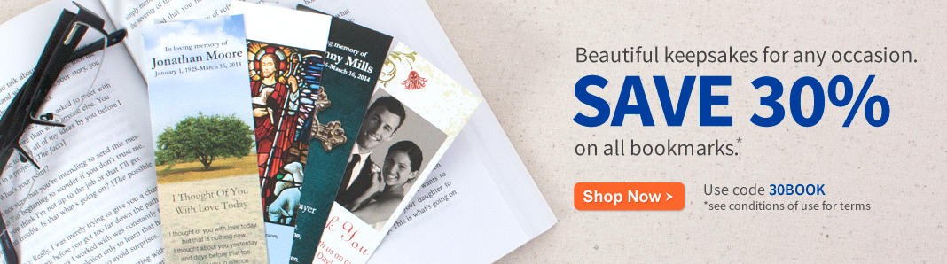 30% off Bookmarks
