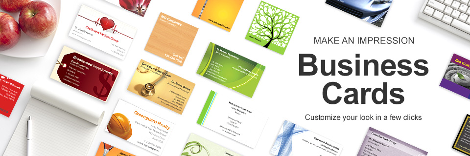 Easily Design Your Own Business Cards line