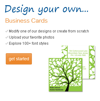 Personalized Business Cards